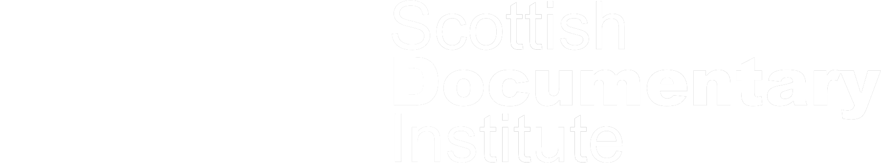 Creative Scotland and Scottish Documentary Institute logo